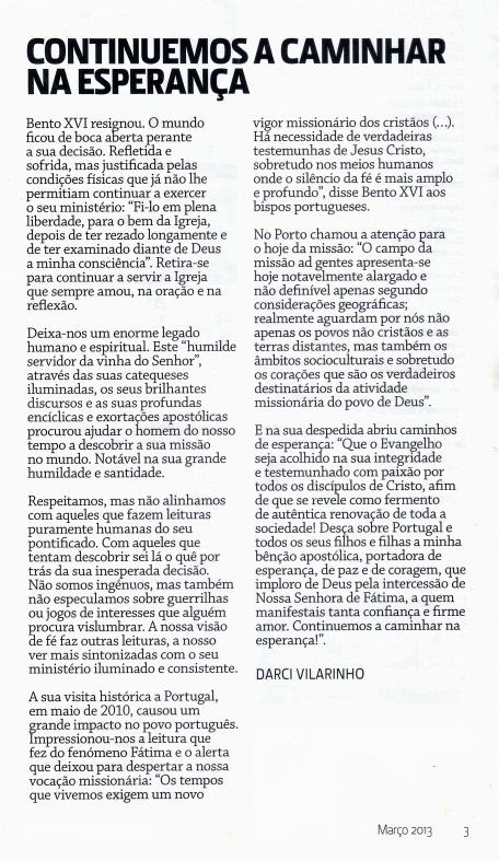 Editorial  Cont. a cam. na Esp .